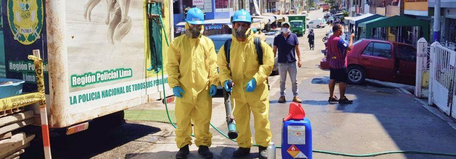 Saneamiento ambiental y control de plagas